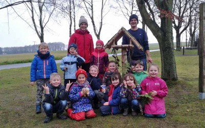 Vogelhausbau – Klasse 1