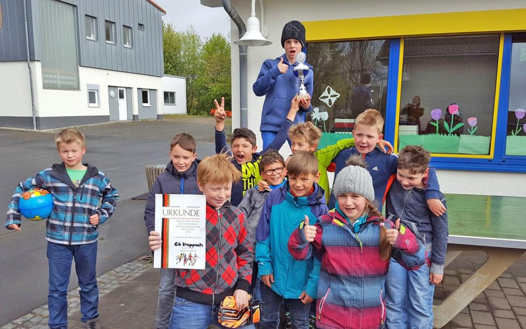 2. Platz für Fußball – AG beim VG-Turnier