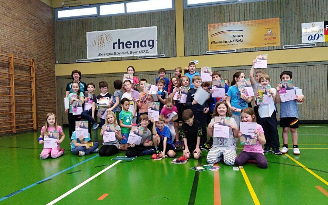 Tischtennis-Minimeisterschaften