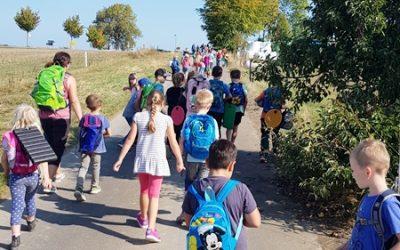 Wandertag nach Giesenhausen