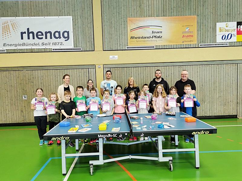 TT-Minimeisterschaften Klasse 3